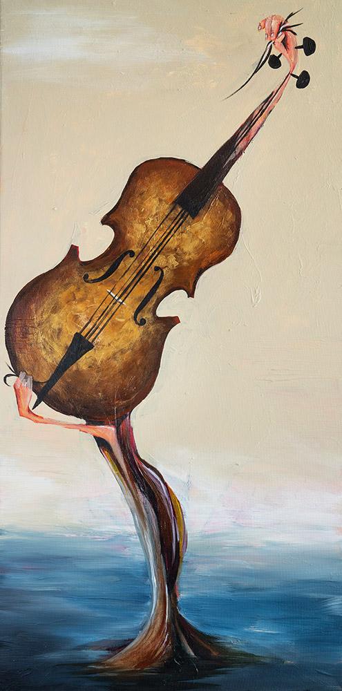 El violin dorado